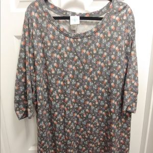 Modcloth Best of Botanicals Tunic Top